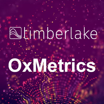 Testimonio de parte de OxMetrics – Timberlake