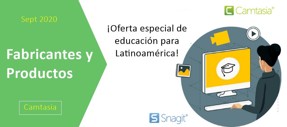 ¡Oferta especial de educación para Latinoamérica!