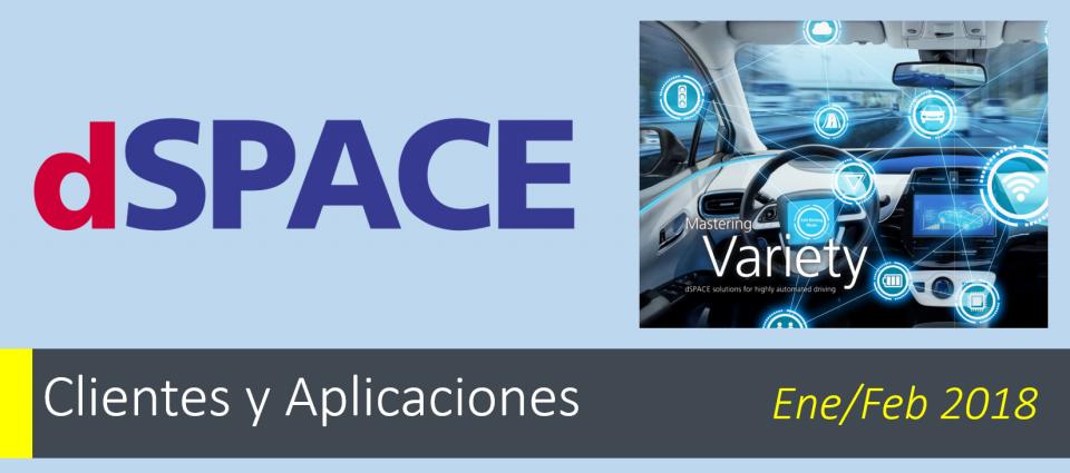 Mastering Variety Soluciones dSPACE para una conducción altamente automatizada