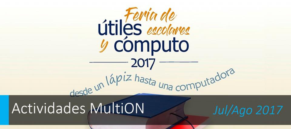 Feria de Útiles escolares y Cómputo en la UNAM