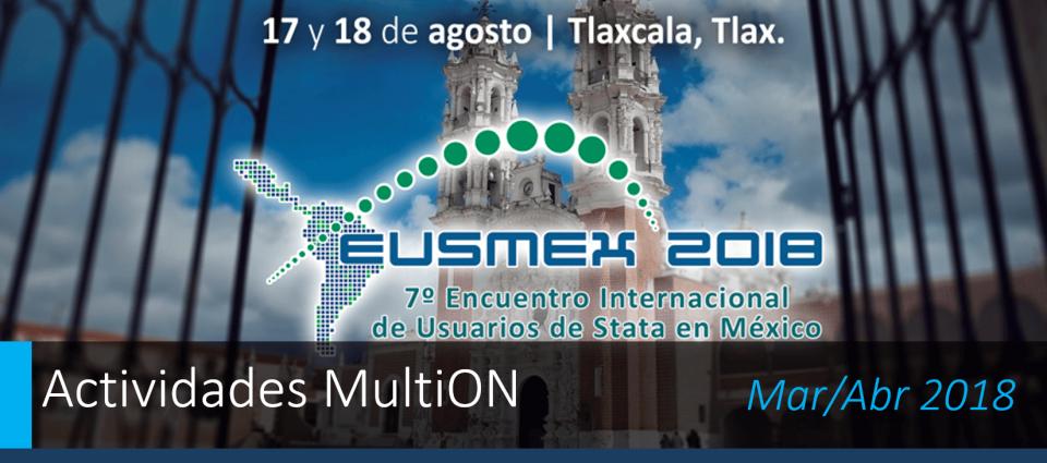 ¡Participe en EUSMEX 2018!