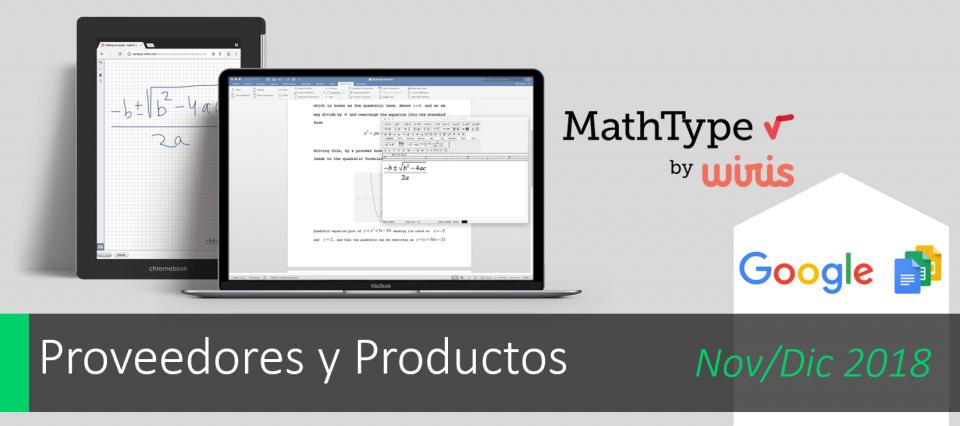 MathType ahora para Google Docs
