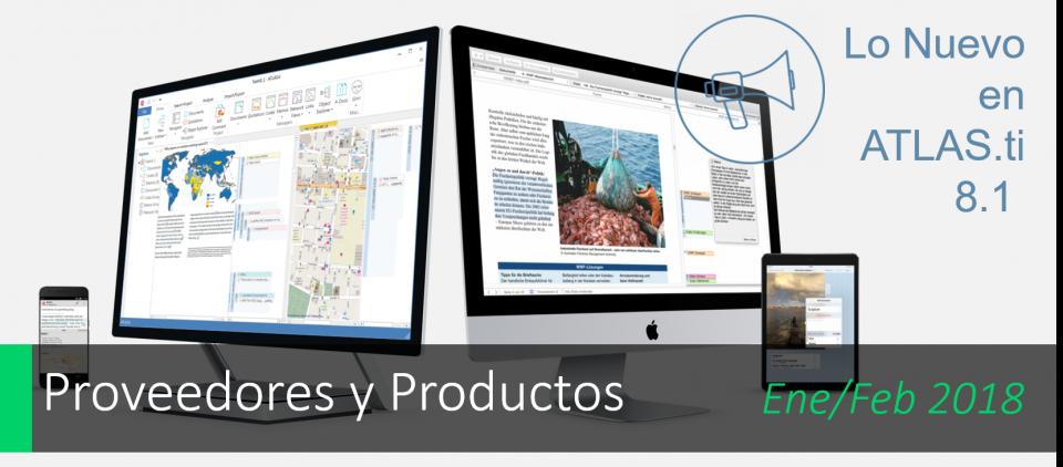ATLAS.ti 8.1 ¡Ahora en español!