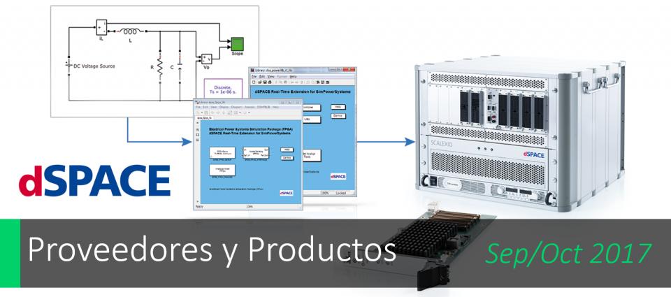 Paquete de Simulación para sistemas de energía eléctrica dSPACE
