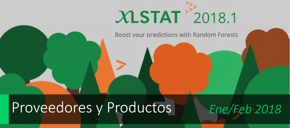 Ya disponible XLSTAT 2018.1