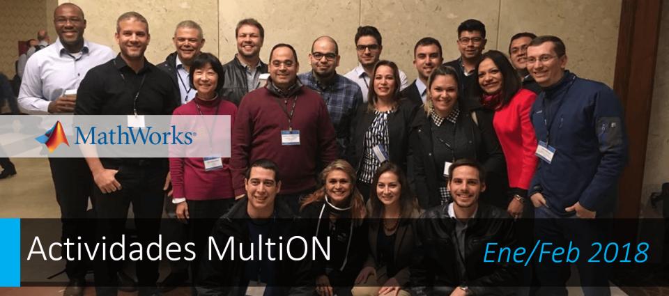Un 2018 con más potencia MATLAB: SKO MathWorks 2018