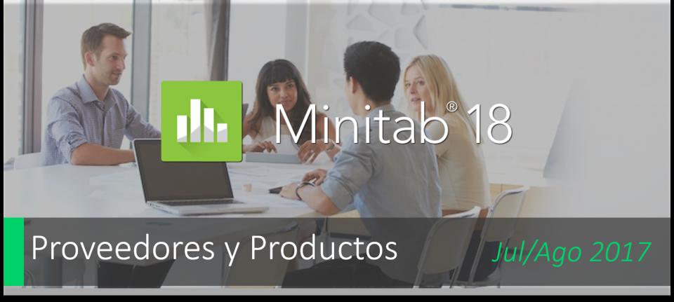 Minitab 18 - ¡Ya disponible!