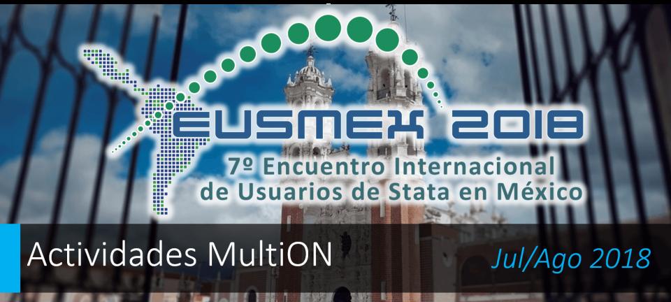 Participe en EUSMEX 2018