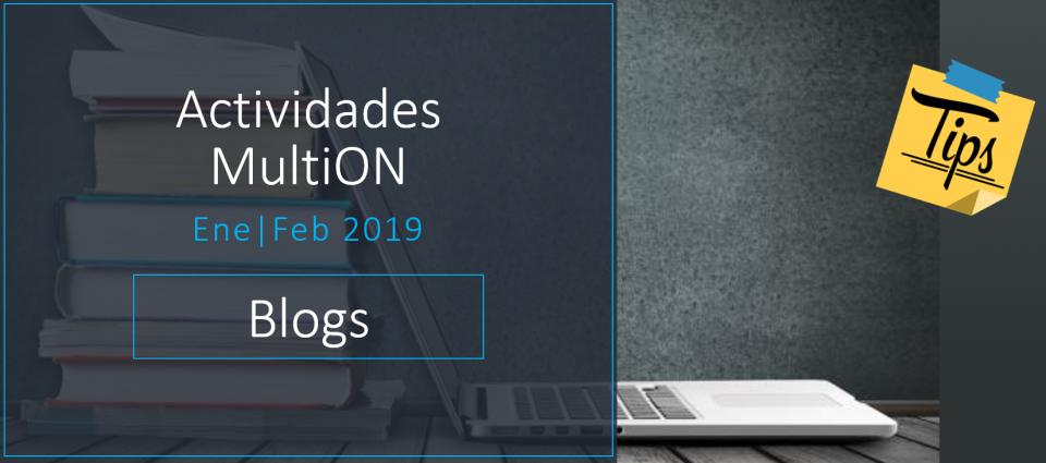 Conozca nuestros Blogs de Usuarios hispanoparlantes