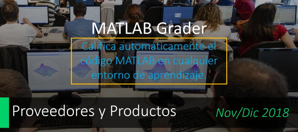 Conozca el mejorado MATLAB Grader