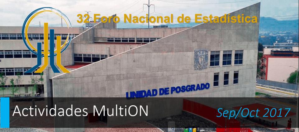 MultiON presente en el Foro Nacional de Estadística