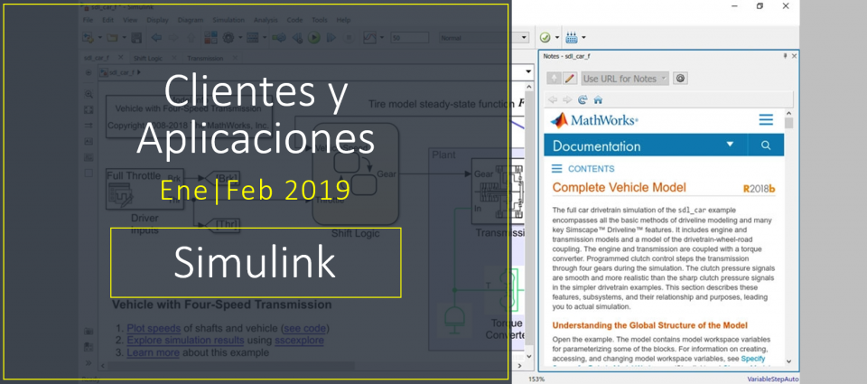 Cinco maneras de documentar un Modelo en Simulink
