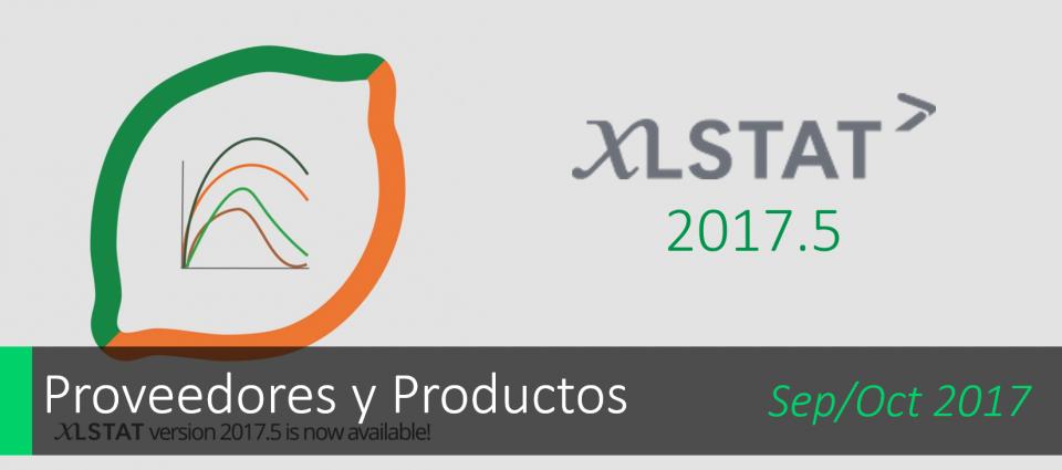 Conoce XLSTAT 2017.5