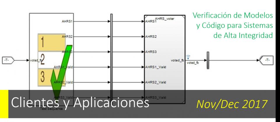 Verificación de Modelos y Código para Sistemas de Alta Integridad.